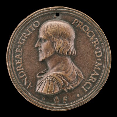 Andrea Gritti, Procurator of St. Mark's, later Doge of Venice [obverse]