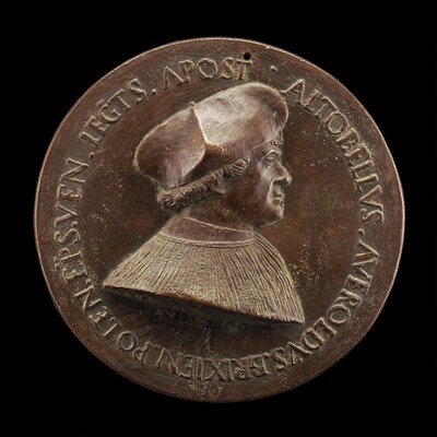 Altobello Averoldo of Brescia, died 1531, Bishop of Pola, Apostolic Legate [obverse]
