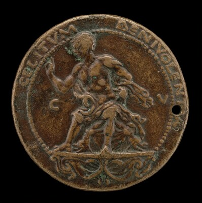 Roselli Seated on a Bracket [reverse]