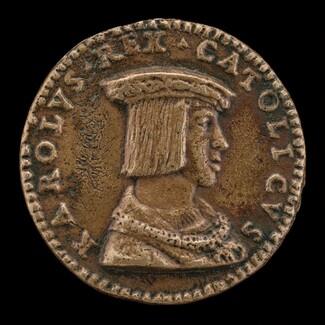 Charles V, 1500-1558, King of Spain 1516-1556, Holy Roman Emperor 1519 [obverse]