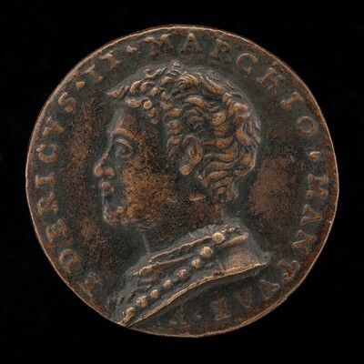 Federigo II Gonzaga, 1500-1540, 5th Marquess of Mantua 1519 and 1st Duke of Mantua 1530 [obverse]