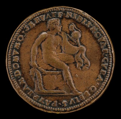 Diomede Seated on a Cippus [reverse]