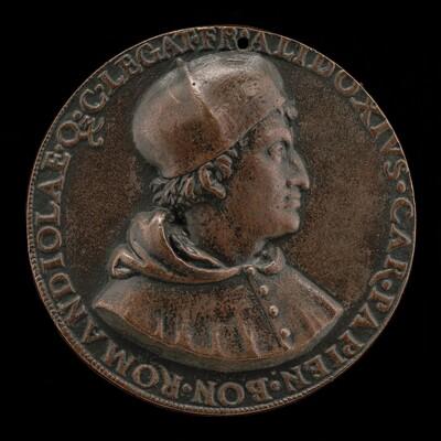 Francesco degli Alidosi, c. 1455-1511, Cardinal of Pavia 1505, Legate of Bologna and Romagna 1508 [obverse]
