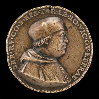 Bernardo de' Rossi, died 1527, Bishop of Treviso 1499, Governor of Bologna 1519-1523 [obverse]