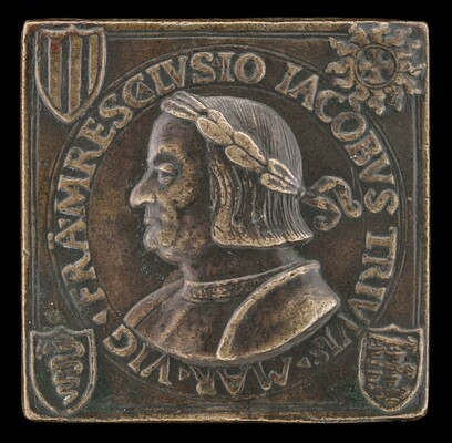 Gian Giacomo Trivulzio, 1441-1518, Marshal of France 1499 [obverse]