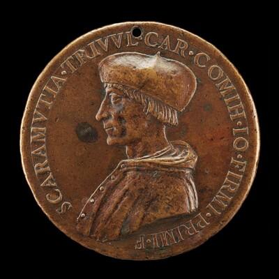 Scaramuccia di Gianfermo Trivulzio, died 1527, Bishop of Como 1508, Cardinal 1517 [obverse]
