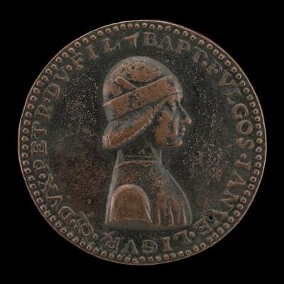 Battista II di Campofregoso, Doge of Genoa 1478-1483 [obverse]