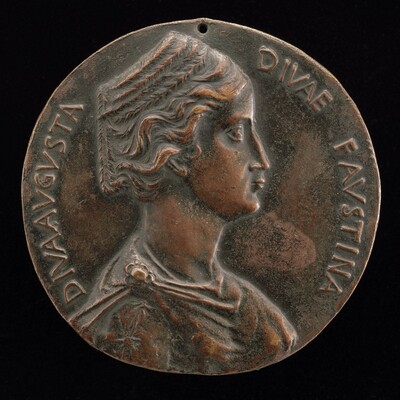 Faustina the Elder, d. 141, Wife of Emperor Antoninus Pius [obverse]