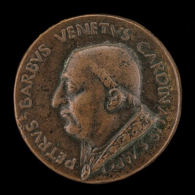 Pier Barbo, Cardinal of San Marco, afterwards Paul II 1455 [obverse]