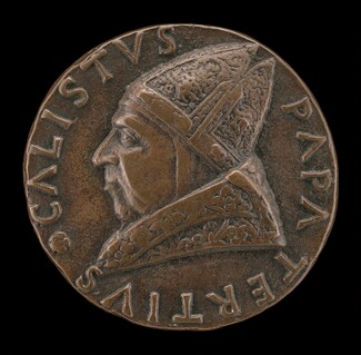 Callistus III (Alfonso de Borja, 1378-1458), Pope 1455 [obverse]
