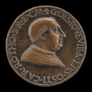 Guillaume d'Estouteville, c. 1412-1483, Cardinal 1439, Archbishop of Rouen 1453, Bishop of Ostia 1461