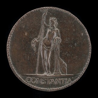 Constancy Resting on Staff and Column [reverse]