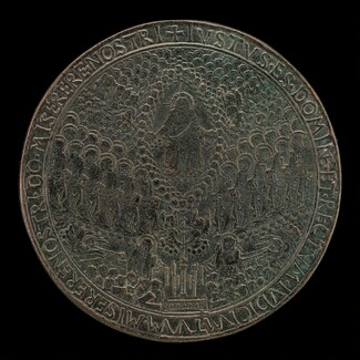 Christ in Glory, and the Resurrection [reverse]