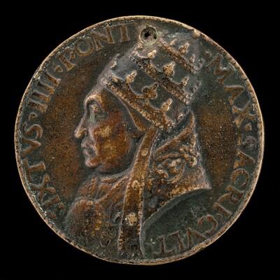 Sixtus IV (Francesco della Rovere, 1414-1484), Pope 1471 [obverse]