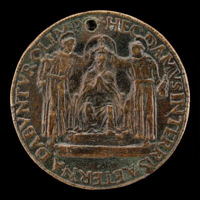 Sixtus IV Being Crowned [reverse]