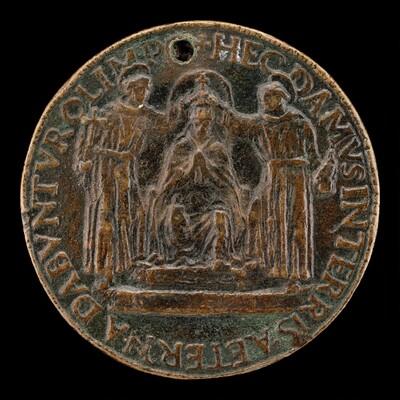 Sixtus IV Being Crowned [reverse]