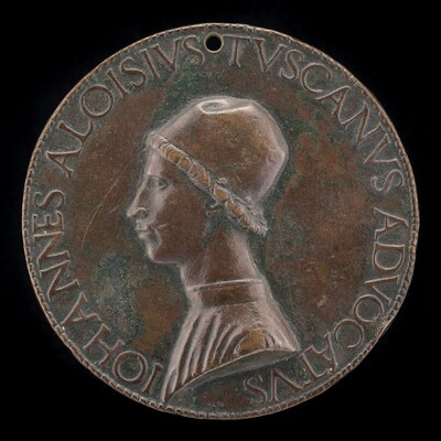 Giovanni Alvise Toscani, c. 1450-1478, Milanese Jurisconsult, Consistorial Advocate, and Auditor General under Pope Sixtus IV [obverse]