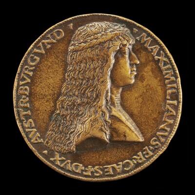 Maximilian I, 1459-1519, Archduke of Austria, afterwards Emperor 1493 [obverse]