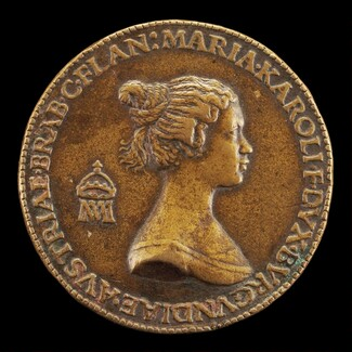 Maria of Burgundy, died 1482, Wife of Maximilian of Austria 1477 [reverse]