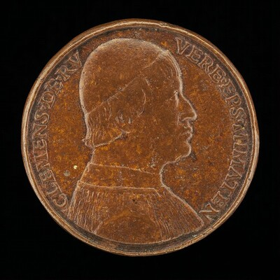 Clemente della Rovere, Bishop of Mende 1483-1504, Brother of Giuliano [reverse]