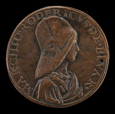 Don Rodrigo de Bivar Y Mendoza, died 1523 [obverse]