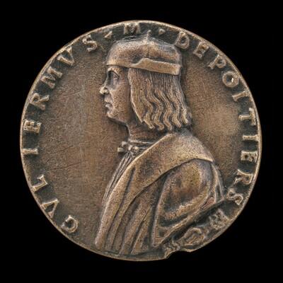 Guillaume de Poitiers, died 1503, Marquis de Cotrone [obverse]