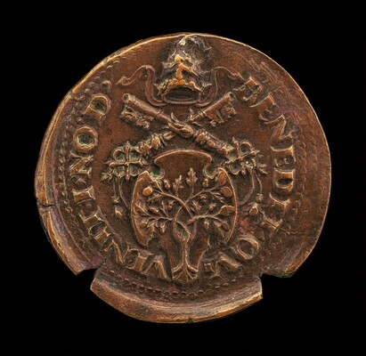 Shield with the Arms of Della Rovere [reverse]