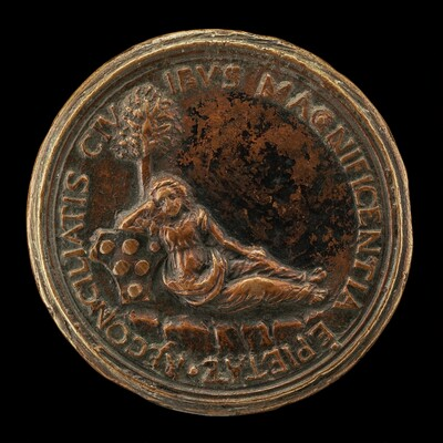 Florence Leaning on the Medici Shield [reverse]
