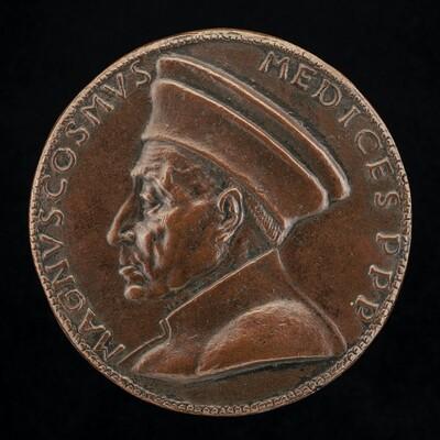 Cosimo de' Medici, 1389-1464, Pater Patriae [obverse]