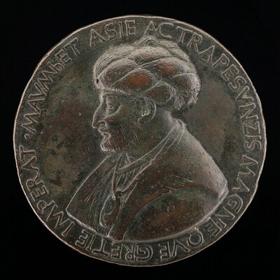 Mehmed II, 1430-1481, Sultan of the Turks 1451 [obverse]