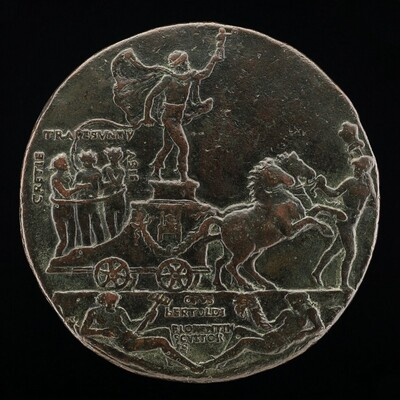 Triumphal Car with Greece, Trebizond, and Asia [reverse]