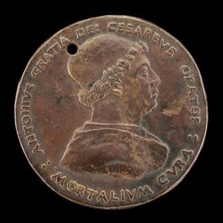 Antonio Gratiadei, died 1491, Imperial Envoy [obverse]