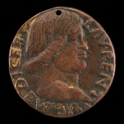 Lorenzo de' Medici, il Magnifico, 1449-1492 [obverse]