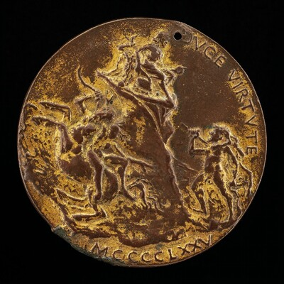Hercules Pursuing Nessus and Deianara [reverse]