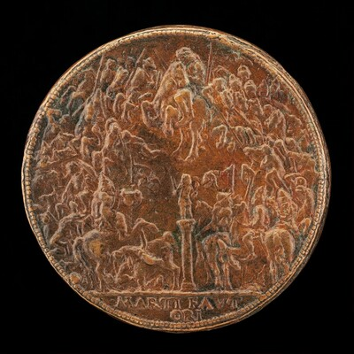 Battle between the Hungarians and the Turks [reverse]