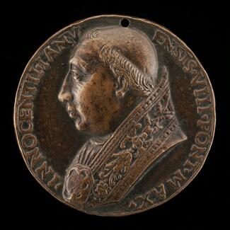 Innocent VIII (Giovanni Battista Cibò, 1432-1492), Pope 1484 [obverse]