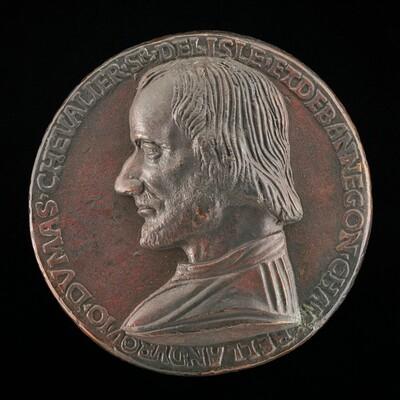 Jean du Mas de l'Isle, died 1495, Councillor of Charles VIII [obverse]
