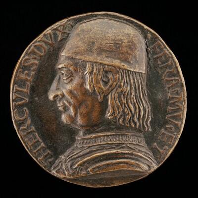 Ercole I d'Este, 1431-1505, Duke of Ferrara, Modena, and Reggio 1471 [obverse]