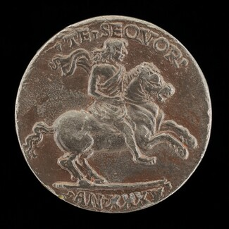 Giovanni Paolo Orsini on Horseback [reverse]