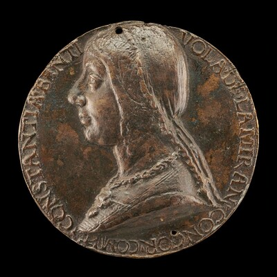 Costanza Bentivoglio, Wife of Antonio Pico della Mirandola 1473, Countess of Concordia 1483 [obverse]