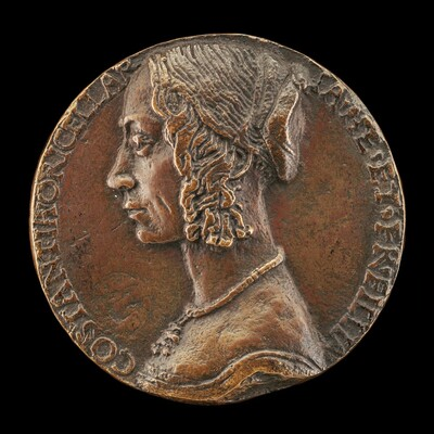 Costanza Rucellai, probably Daughter of Girolamo Rucellai and Wife of Francesco Dini 1471 [obverse]