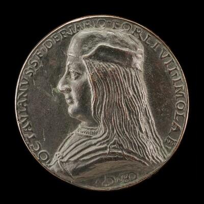 Ottaviano Sforza Riario, b. 1479, Count of Forli and Imola [obverse]
