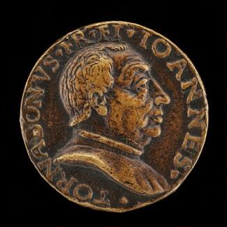 Giovanni di Francesco Tornabuoni, 1428-1497, Florentine Banker and Statesman [obverse]