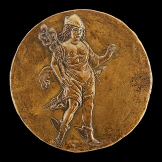 Mercury Carrying a Caduceus [reverse]