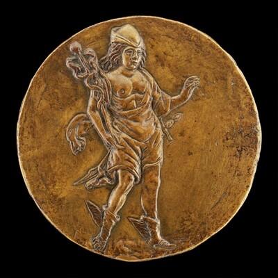 Mercury Carrying a Caduceus [reverse]