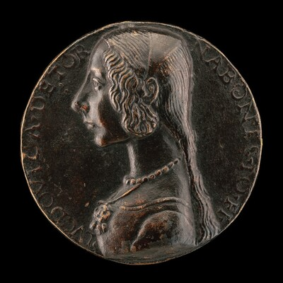 Lodovica Tornabuoni, Daughter of Giovanni Tornabuoni [obverse]