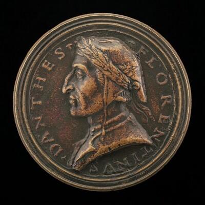 Dante Alighieri, Florentine Poet, 1265-1321 [obverse]