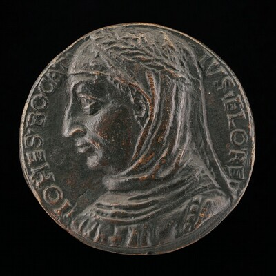 Giovanni Boccaccio, 1313-1375, Florentine Writer [obverse]