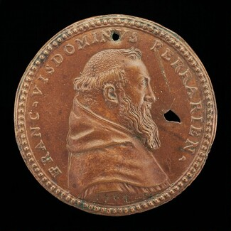 Francesco Visdomini of Ferrara, 1509-1573, Humanist and Hebraist [obverse]