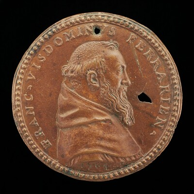 Francesco Visdomini of Ferrara, 1509-1573, Humanist and Hebraist [obverse]